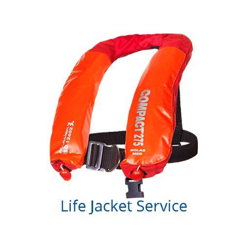 Liferaft & Life Jacket Servicing